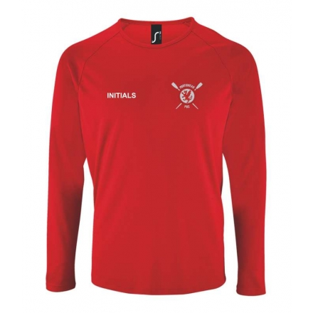 Sporty Long Sleeve Performance T-Shirt