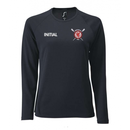 Ladies Sporty Long Sleeve Performance T-Shirt