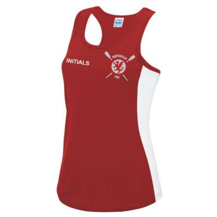 Ladies Contrast Vest