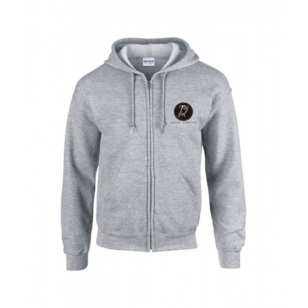 Adult Zip Hooded Top