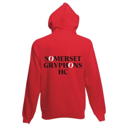 WK73 Adult Contrast hooded Top